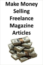 front cover of the book make money freelancing